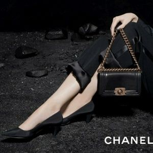 HOLD - AUTH CHANEL Boy Flap Bag